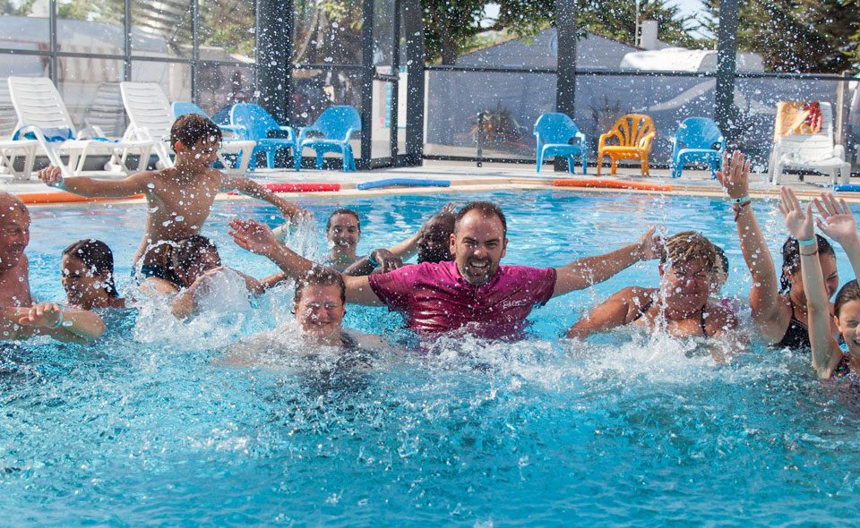Camping Club Mahana : Aquagym Camping Club Mahana By La Pege (1)