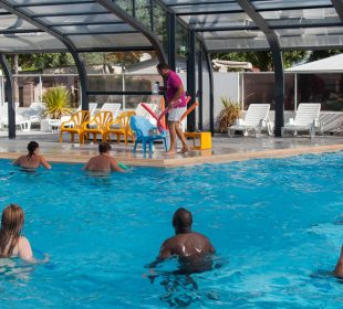 Camping Club Mahana : Aquagym Camping Club Mahana By La Pege (2)