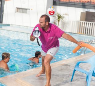 Camping Club Mahana : Aquagym Camping Club Mahana By La Pege (33)