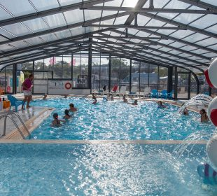 Camping Club Mahana : Aquagym Camping Club Mahana By La Pege (7)