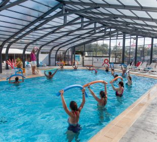 Camping Club Mahana : Aquagym Camping Club Mahana By La Pege (9)