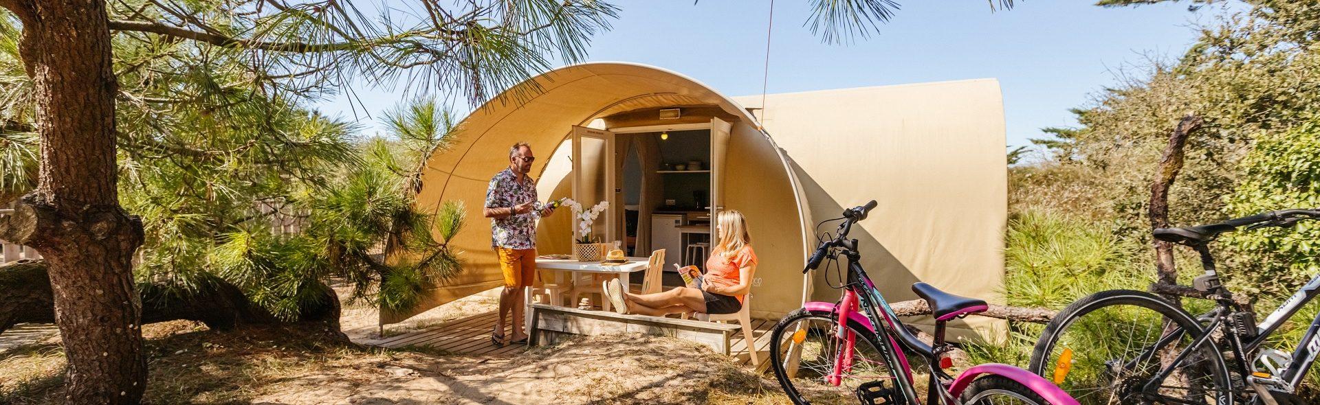 Camping Club Mahana : Coco Accueil Redim