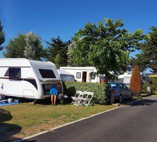 Camping Club Mahana : Emplacement Nu (2)