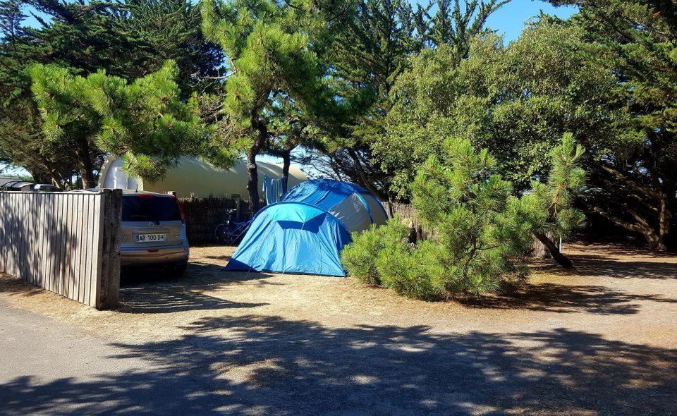 Camping Club Mahana : Emplacement Nu 4 (1)