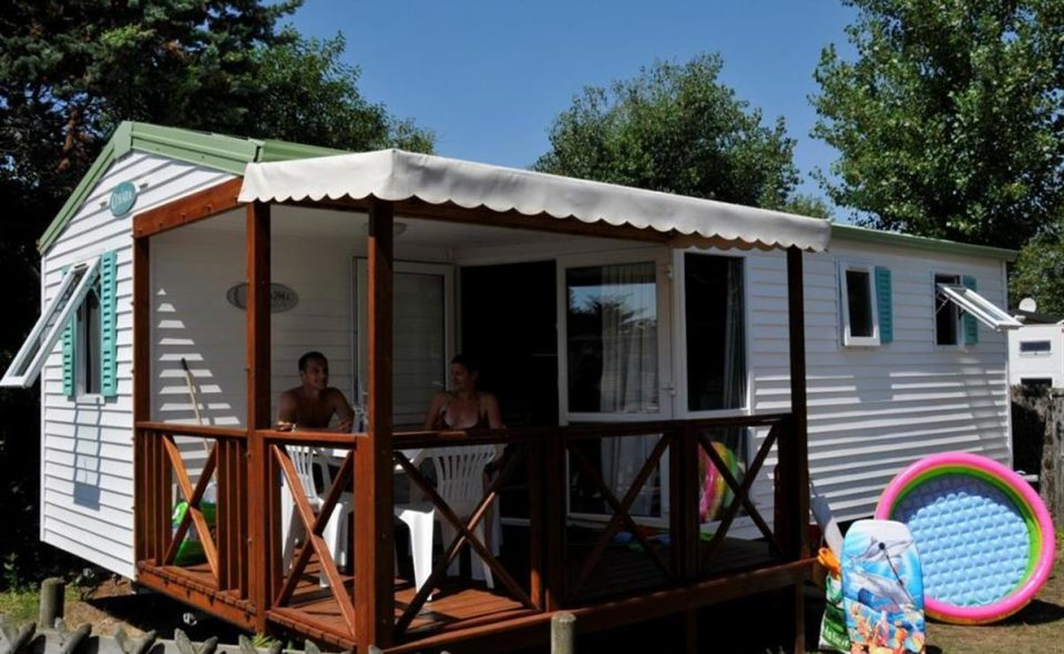 Camping Club Mahana : mobilhome Moorea