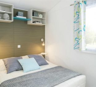 Camping-Club Mahana: Moana Mobile Home bedroom