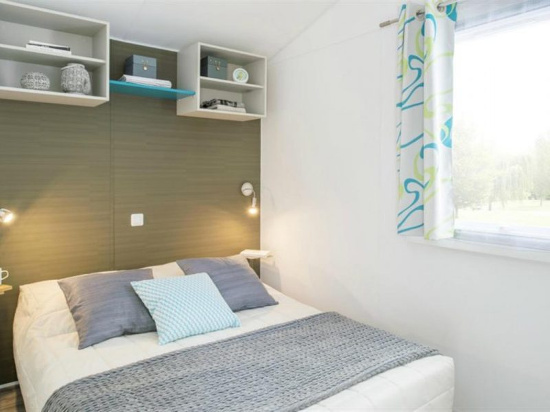 Camping-Club Mahana: Moana Mobile Home bedroom