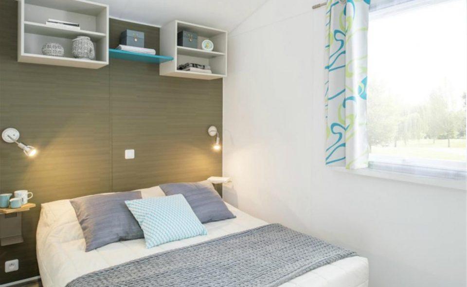 Camping Club Mahana : Mobil-home Moana chambre