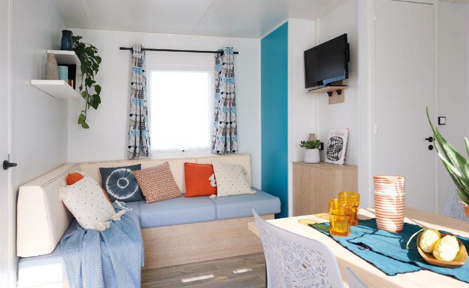 Camping Club Mahana : Mobil-home Riviera Lodge