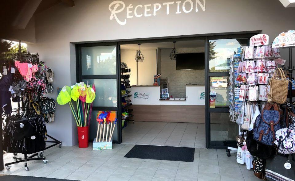 Camping-Club Mahana: Reception