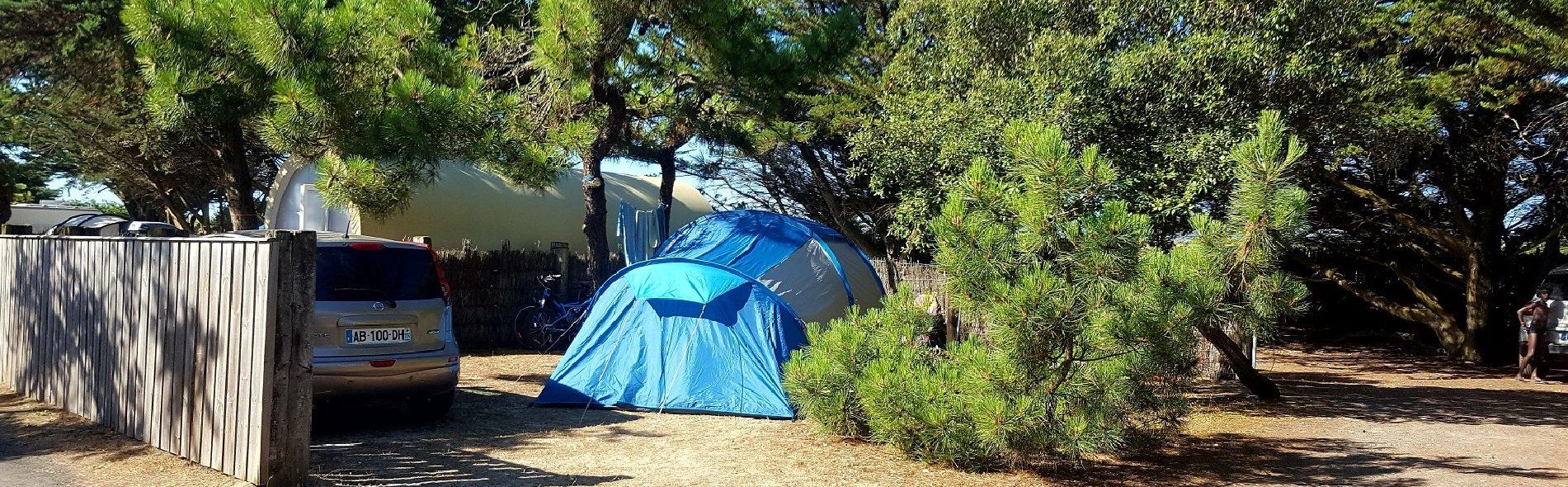Camping Club Mahana : Tente 1920 Diapo