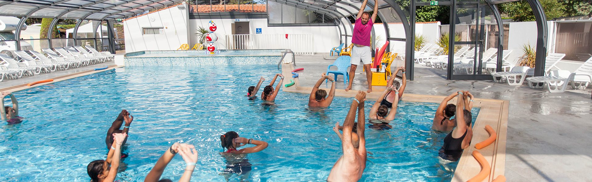 Camping Club Mahana : Aquagym Camping Club Mahana By La Pege (53)