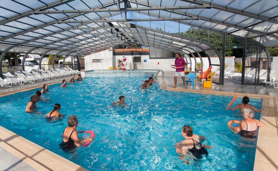 Camping Club Mahana : Aquagym Camping Club Mahana By La Pege (6)