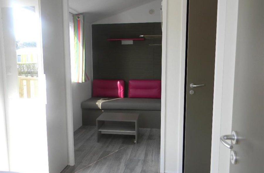 Camping Club Mahana : Mobilhome Nai'a intérieur