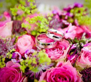 Camping Club Mahana : bouquet de mariée