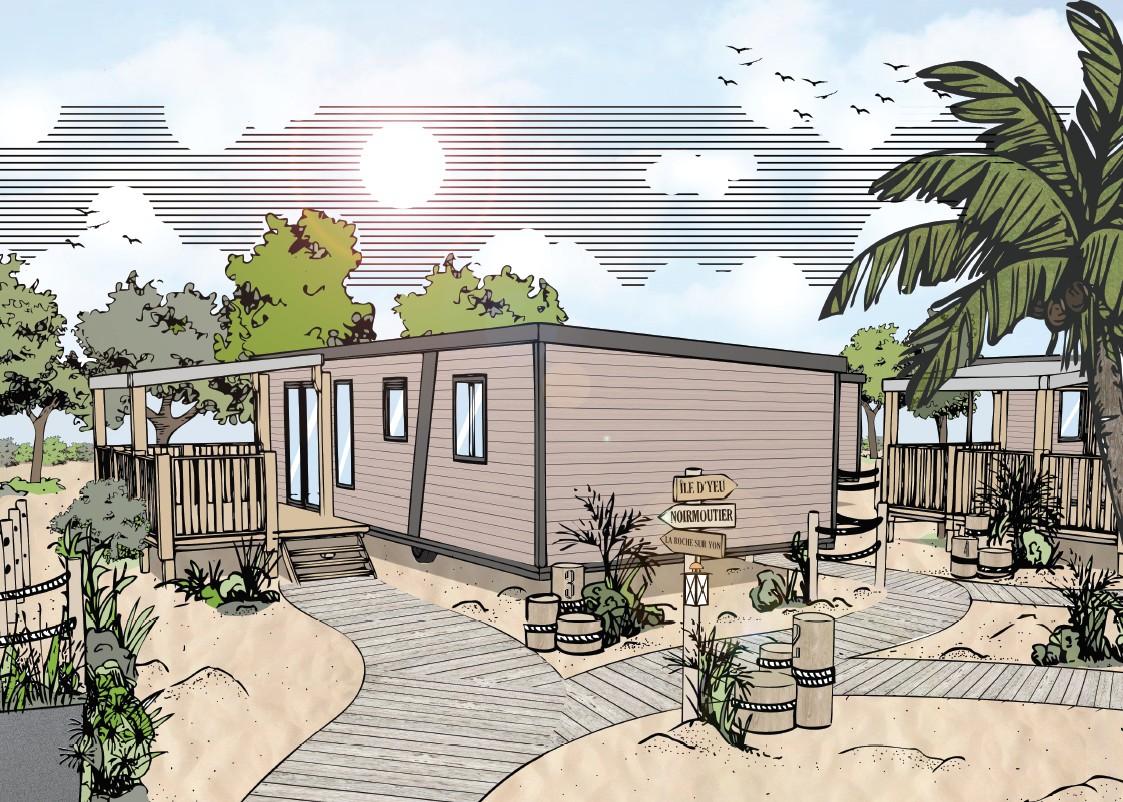 Camping Club Mahana : Nouveau Quartier