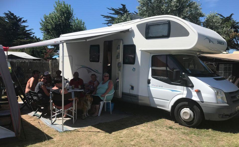 Camping Club Mahana : Emplacement En Situation (1)