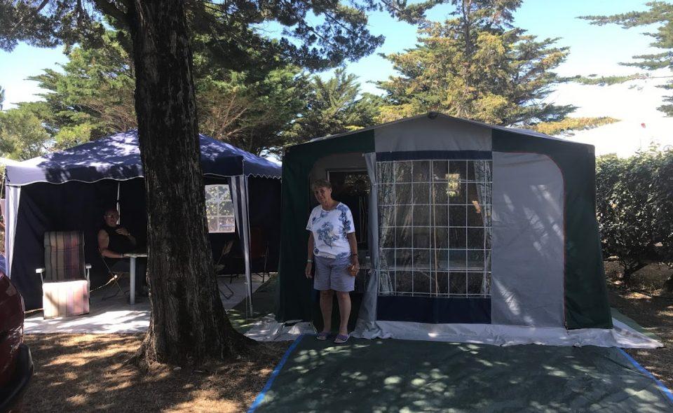 Camping Club Mahana : Emplacement En Situation (3)