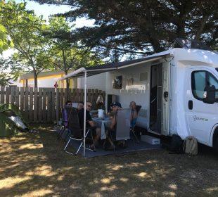Camping Club Mahana : Emplacement En Situation (8)