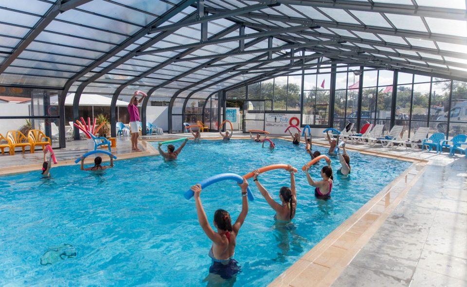Camping Club Mahana : Aquagym Camping Club Mahana By La Pege (9)