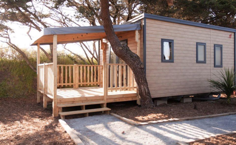 Camping Club Mahana : Tiki Lodge Camping Mahana