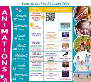 Camping Club Mahana : 17 24 Juillet Jpeg